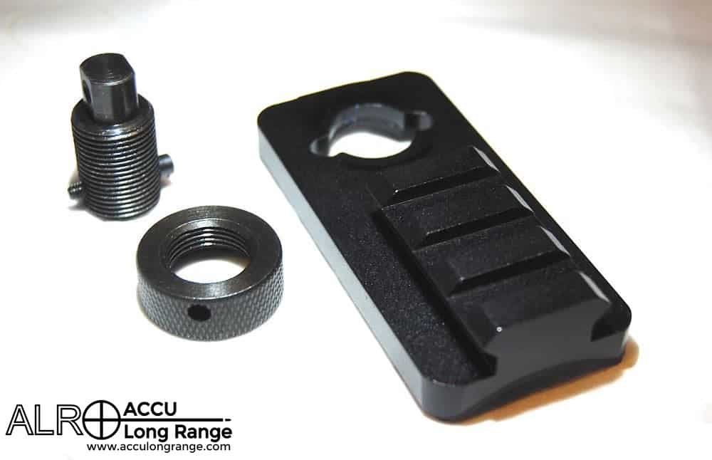 Sling stud rail adapter for rifle /& QD* Harris style bipod adapter kit