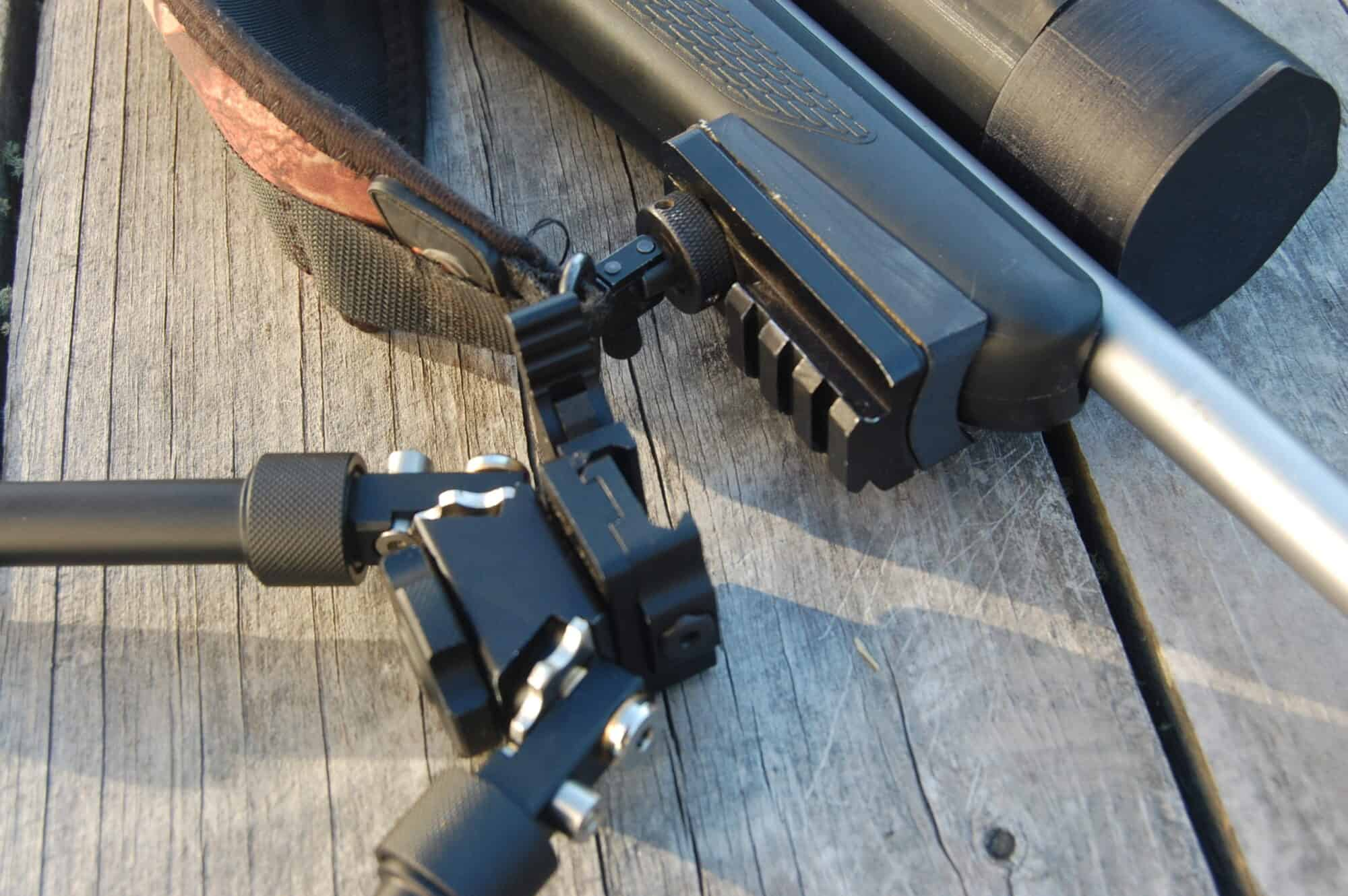 ACCU Long Range Bipod Sling Stud Picatinny style rail adapter
